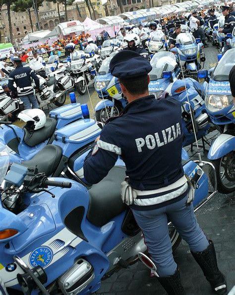 by the polizia di stato italian state police taken at a polizia polizia di stato italian motorcycle police italian s