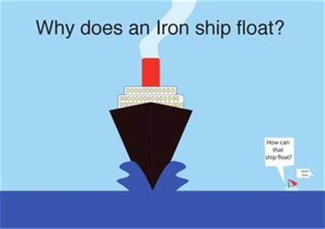 why ship floats on water and doesn t sink why does an iron ship float by alejo bedoya issuu