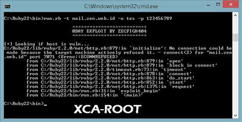 Tutorial Exploit Zimbra | tutorial exploit zimbra xca offcial