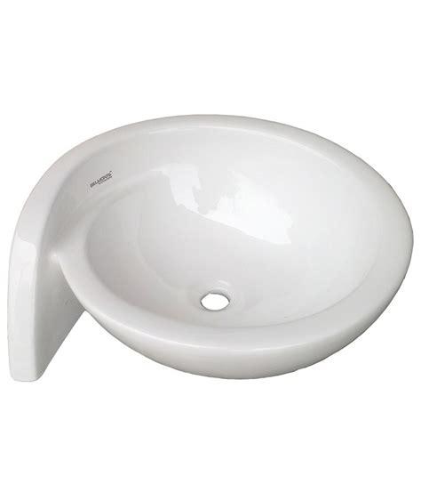 table top wash basin buy belmonte table top wash basin moon 21 inch x 18 inch