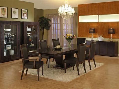 Dining Room Furniture Collection | modern furniture collection leather dining room