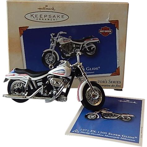hallmark keepsake ornament harley davidson motorcycle from