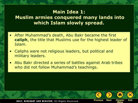 main themes quran ppt chapter 12 the islamic world powerpoint
