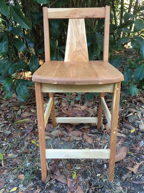 Handmade Wooden Bar Stools - custom handmade wooden stools by dumond s custom furniture
