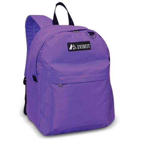 Light Backpack by Lightweight Classic School Backpack By Everest Book Bags