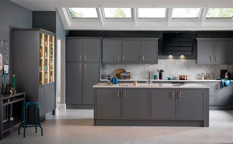 Island Ideas For Kitchens by Newbury Grey Kitchen Units Amp Cabinets Magnet Kitchens