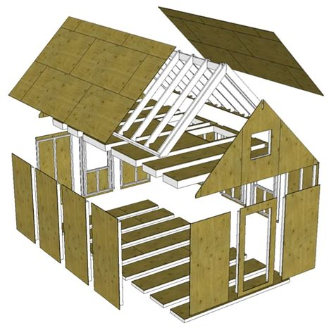 prefab tiny house plans prefab hybrid an approach to partial panelized construction