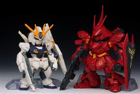 Fw Gundam Converge Sazabi Nu Gundam Metallic 2nd review fw gundam converge sp01 rx 93 nu gundam fully equipped ver msn 04 sazabi no 22