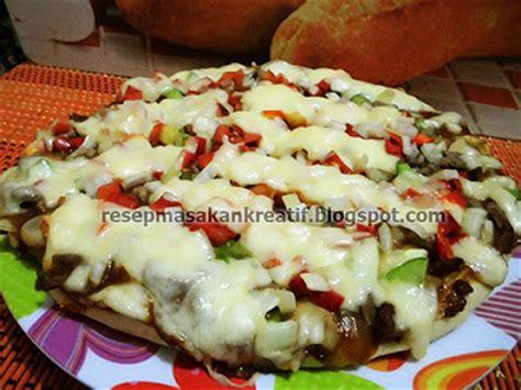 cara membuat pancake ala rumahan resep pizza keju saus barbeque ala rumahan aneka resep