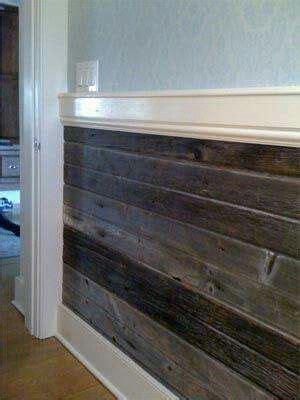 wall   wood trim wood wainscoting home