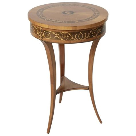 Jewelry Vanity Table 19th Century Biedermeier Marquetry Vanity Table Jewelry Table Side Table For Sale At 1stdibs