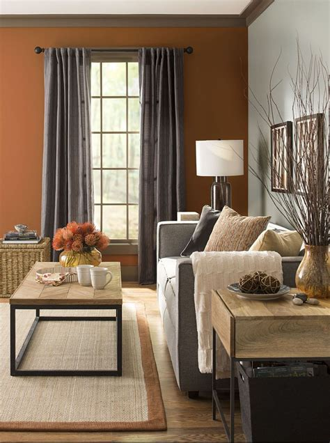 warm colors and metals adding harvest colors like and terra cotta and darker metals