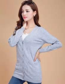 Sweater Wanita Fashion Garsel 7 addonee 2017 wool sweater fashion medium cardigan sweater