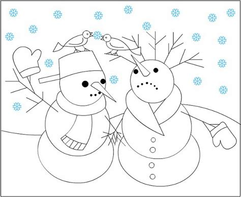 free coloring pages winter wonderland printable winter wonderland coloring pages 572228