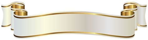 gold banner ribbon png theveliger