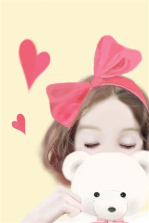 wallpaper cute korean girl cartoon 1000 images about enakei on pinterest around the worlds