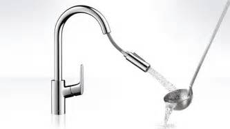 Kitchen Faucet With Handspray Focus Kitchen Faucet Handspray Swivel Spout Hansgrohe Us