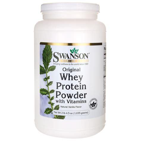 protein vitamins whey protein powder 1 carb per serving swanson