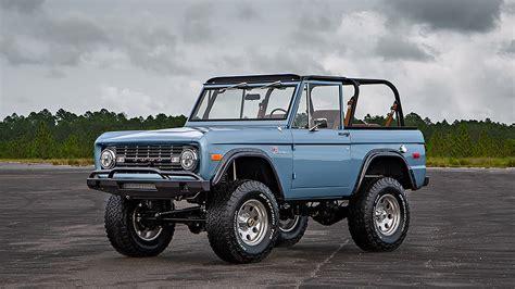 ford bronco  velocity restorations automobile magazine