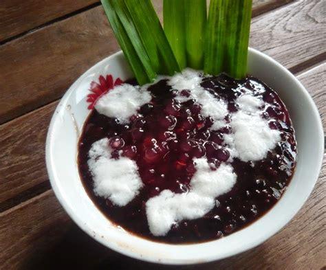 membuat es krim ketan hitam resep membuat bubur ketan hitam