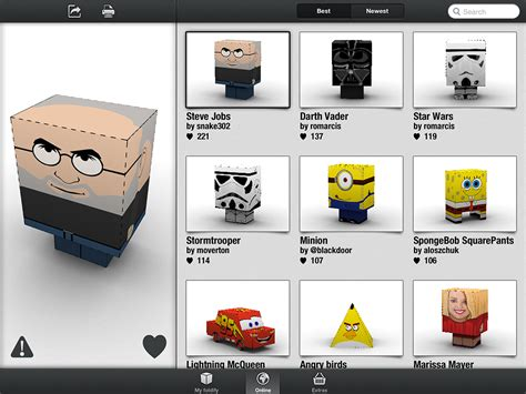 Make Your Own Papercraft - foldify is an easy way to make your own papercraft toys