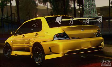 mitsubishi gta mitsubishi lancer evolution viii for gta san andreas