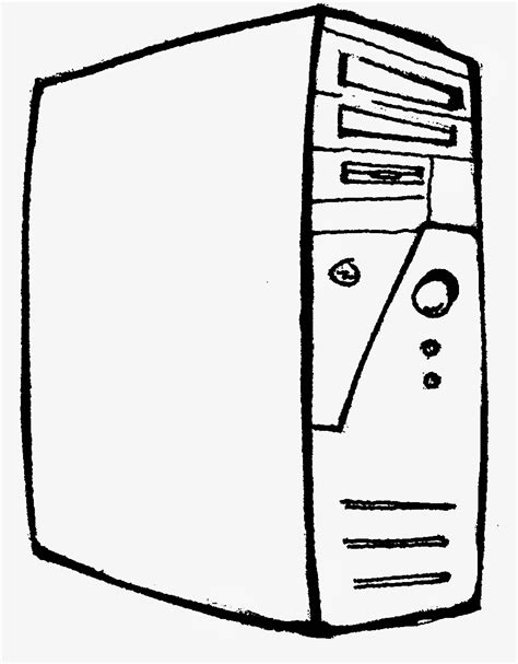 free parts of the computer coloring pages
