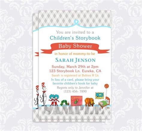 Storybook Themed Baby Shower Invitation Wording by Storybook Baby Shower Invitation Book Baby By