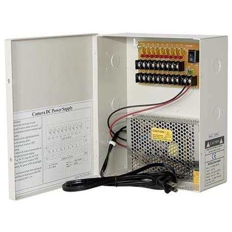 Power Supply Box 12v10a 9ch dc 12v 9ch 10a non fused breaker power supply box tr c12vdc09p10a