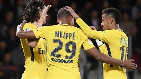 kylian mbappe diet mbappe nets debut strike as psg thrash metz sport the