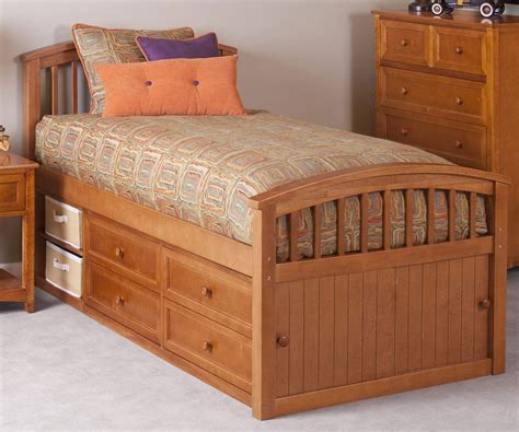 captains bed full captain bed private reserve millie white twin bed
