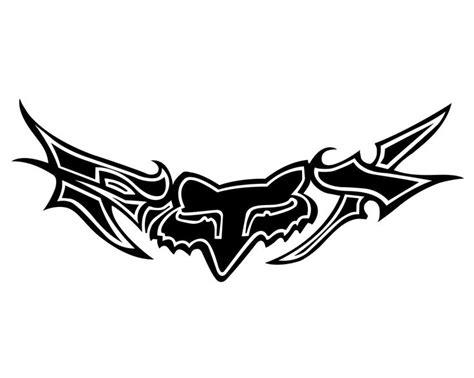 fox logo tattoo designs best 25 fox racing tattoos ideas on fox