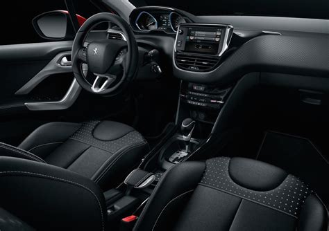 peugeot partner 2008 interior 2017 peugeot 2008 gets updated look on sale in australia