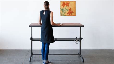 escritorios electricos how to stylishly design a standing desk into your home