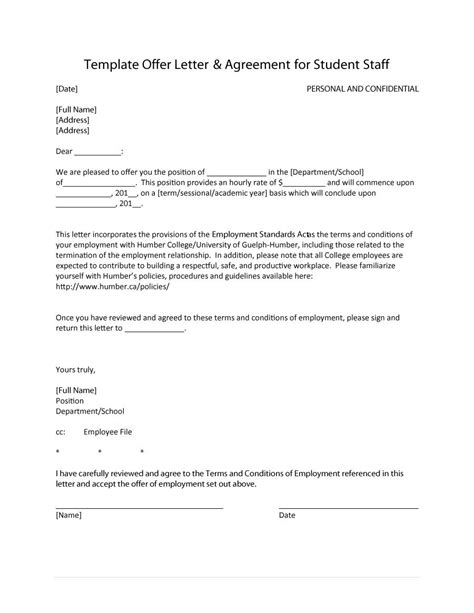 Offer Letters Are Not Contracts offer letter for contract employee docoments ojazlink