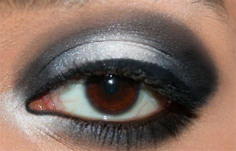 eyeshadow tutorial black and white black and white eye makeup makeup vidalondon