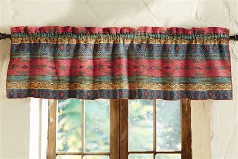 southwest curtains and valances sun valley southwest valance