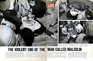 assassination of malcolm x iconic photos