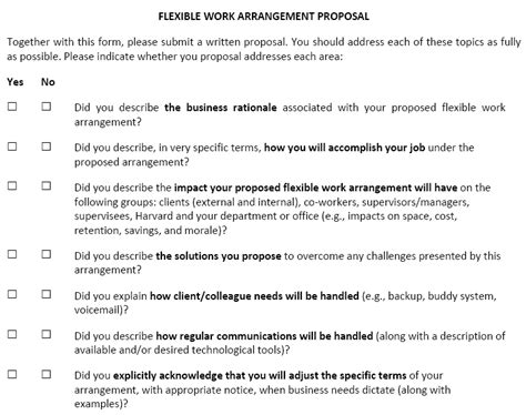 Harvard Mba Application Checklist by 4 Things To Include In A Flexwork Flexjobs