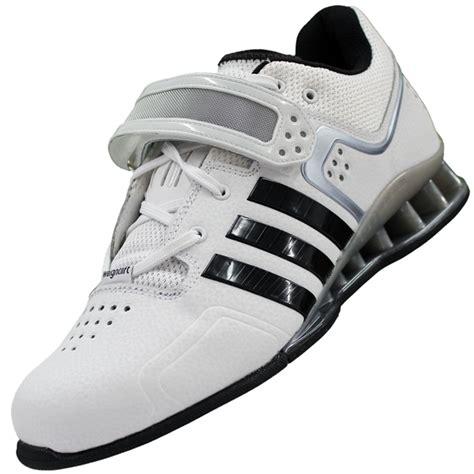 adidas adipower weightlifting shoes white black grey model m25733