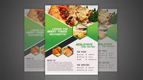 Flyer Design Inspiration Food food flyer design for restaurant photoshop tutorial