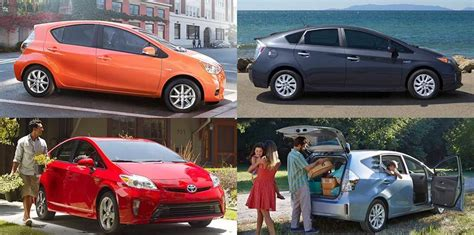 Toyota Model Comparison Compare Toyota Prius Models Hybrid Vehicles Chantilly