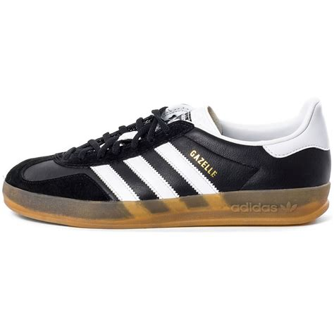 adidas gazelle indoor adidas gazelle indoor mens trainers in black white