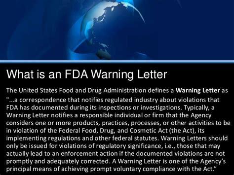 fda warning letters 2 fda warning letter 1219