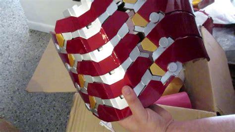 unboxing review joetoys iron man mk costume armor youtube