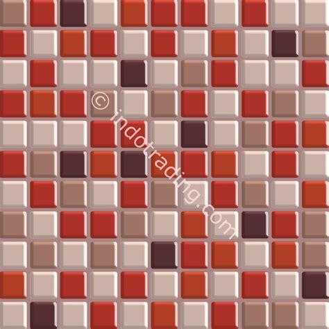 Wallpaper Dapur Mozaik 5 jual mozaik kaca ukuran 30 x 30 merah tua harga murah