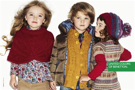 kid s benetton kids fw12 caign fashionopher