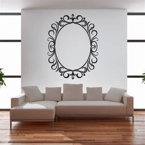 stickers cornici adesivi follia adesivo murale cornice