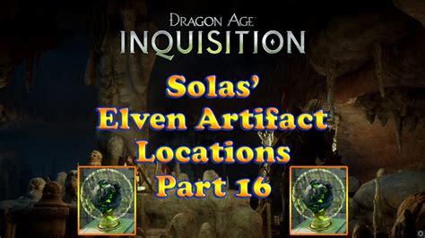 temple of dirthamen age inquisition solas elven artifacts