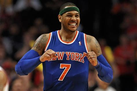 commercial star salary knicks carmelo anthony will take large advances on salary